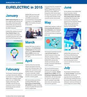 EURELECTRIC in 2015