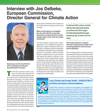 Interview with Jos Delbeke, European Commission, Director General for Climate Action