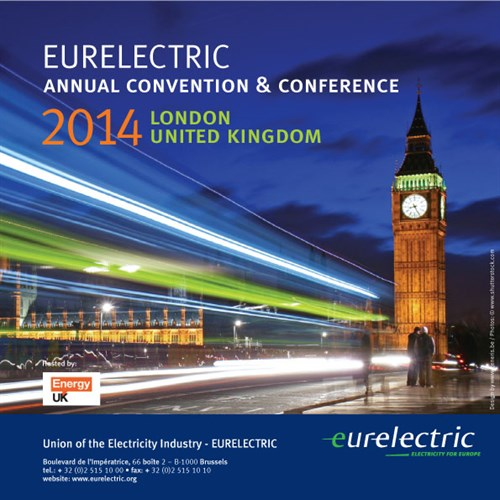 EURELECTRIC Annual Convention & Conference 2013 - London 2014